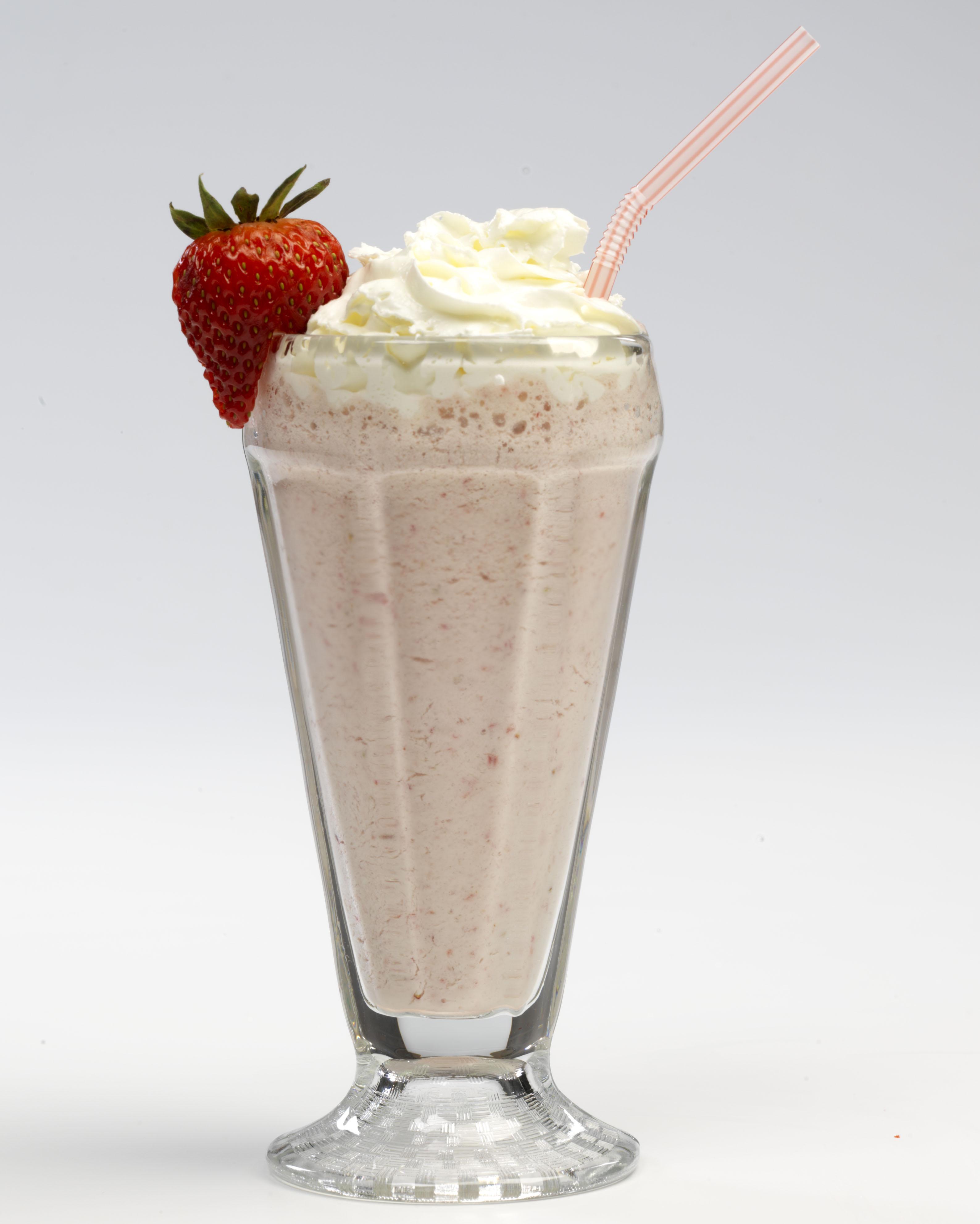 shake milk