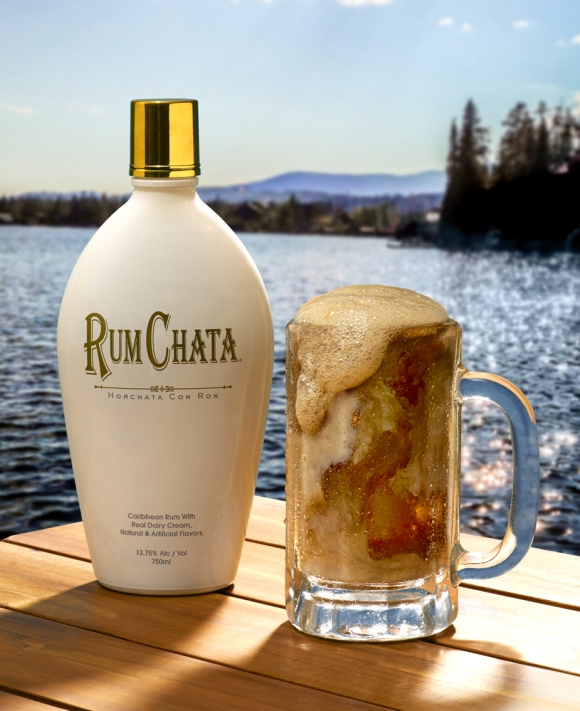 RumChata Root Beer Float Drink Photo